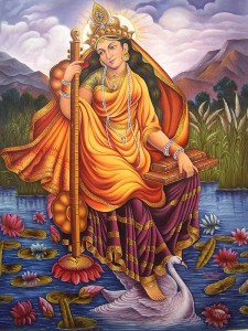 saraswati goddess of wisdom