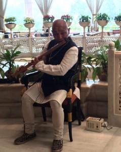 Bamboo Flute in Taj Hotel